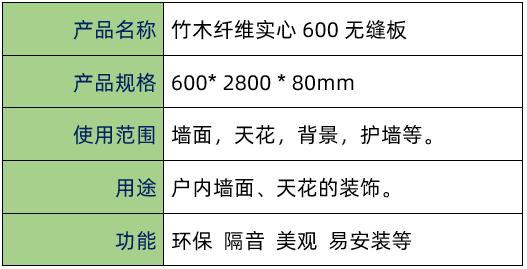 点击查看竹木纤维实心600无缝板大图